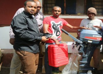 Fisheries department issues outboard engines