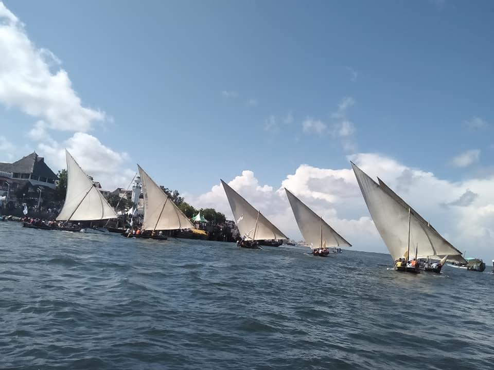 Day 3- 18th Lamu Cultural Festival(Dhow Race)
