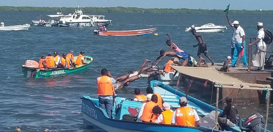 Day 2- 18th Lamu Cultural Festival(Swimming Competition)