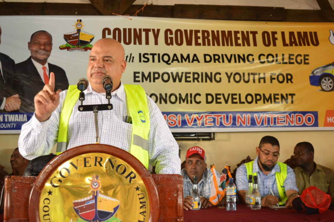 Youth Empowerment in Lamu East.