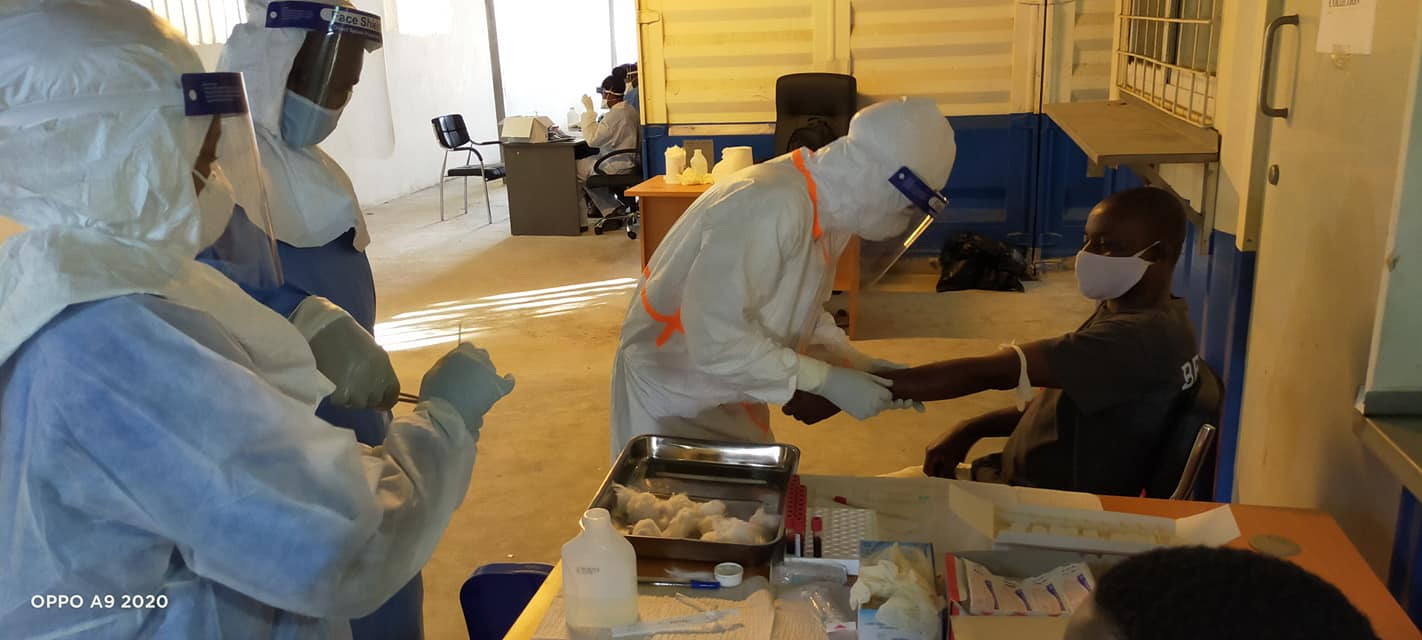 Lamu County Government rolls out mass COVID-19 testing at the King Fahad Hospital