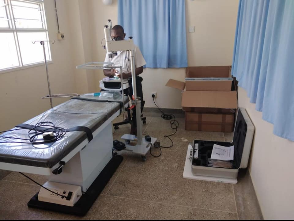 KING FAHAD HOSPITAL NOW EQUIPPED TO PREVENT AVOIDABLE BLINDNESS.