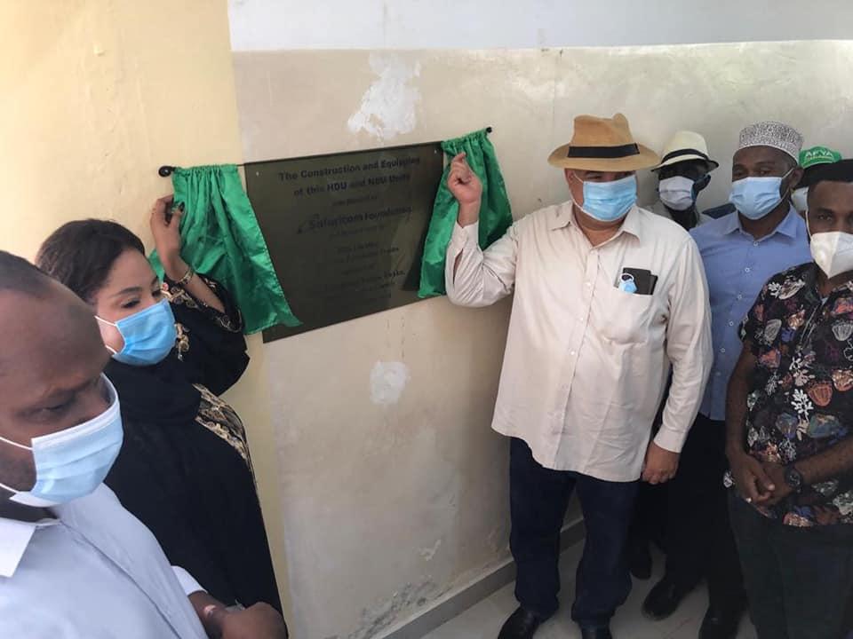 SAFARICOM, LAMU COUNTY IN MATERNAL HEALTH PARTNERSHIP
