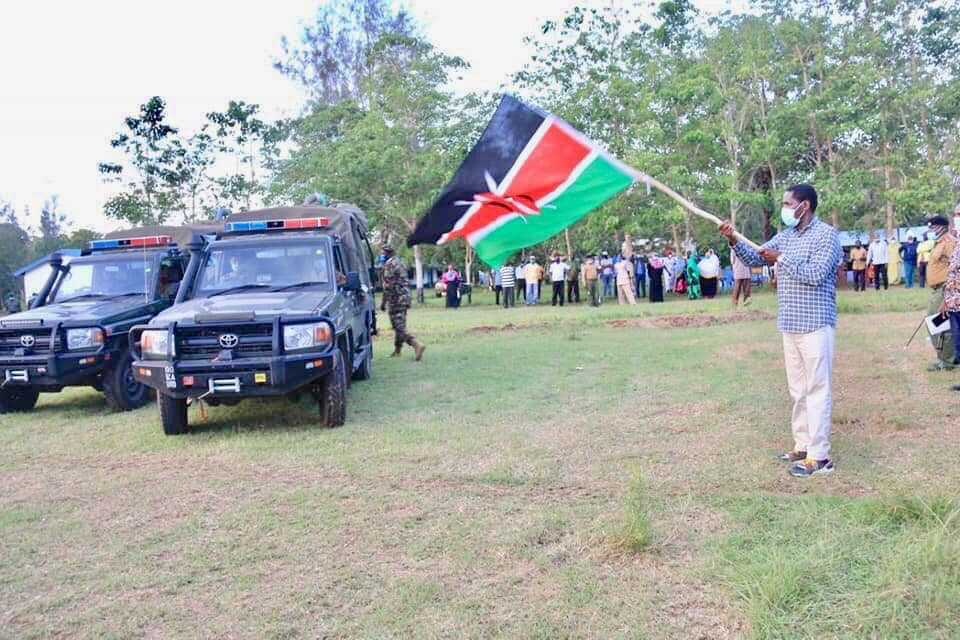 COUNTY LOCUST CONTROL EXERCISE LAUNCHED IN LAMU