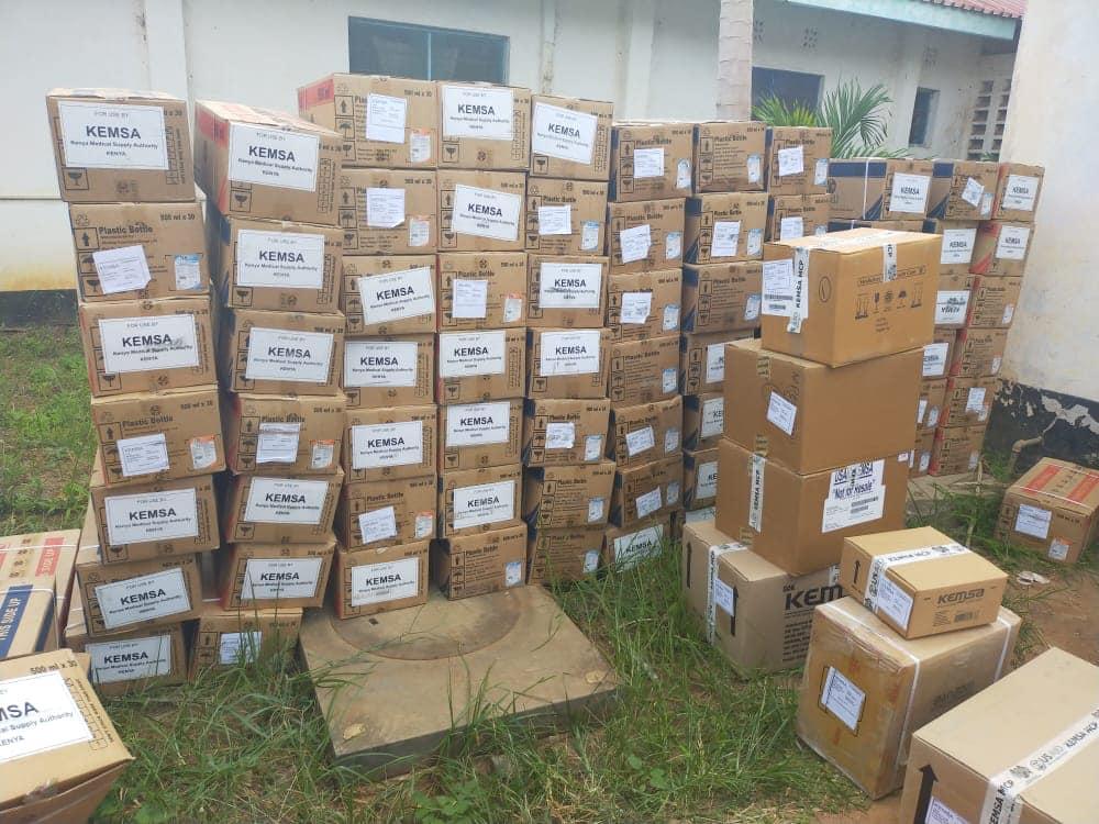 RESTOCKING OF DRUGS IN LAMU COUNTY