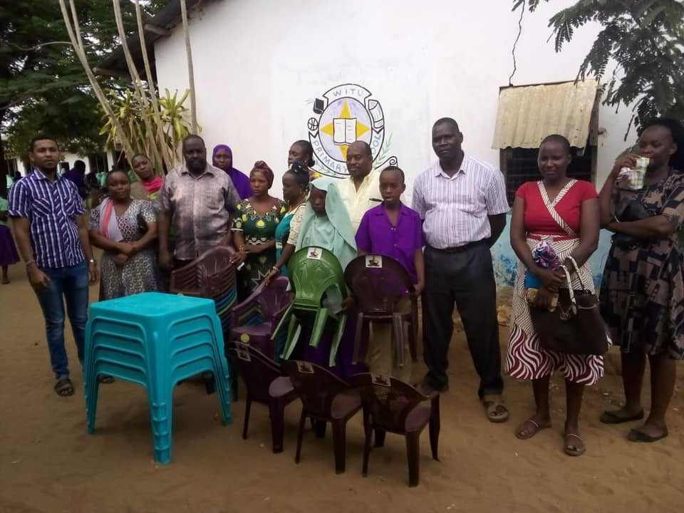 Delivering Witu ECDE chairs and tables