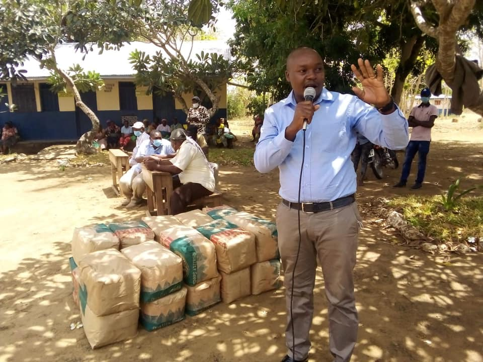 Ongoing countywide certified high yield PH4 maize distribution by county government of Lamu in Heshima, Bomani, Sese, Mini Valley, Hongwe and Msefuni in Hongwe Ward.