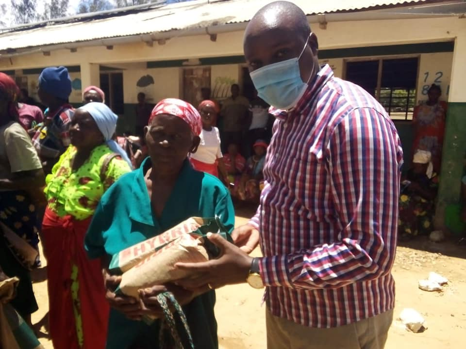 Countywide certified maize distribution
