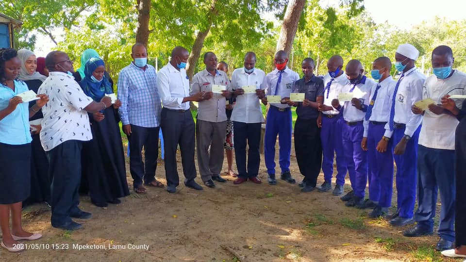 ONGOING ISSUANCE OF LAMU COUNTY SCHOLARSHIPS IN BAHARI WARD