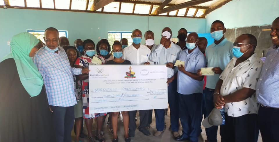 MPEKETONI AND MOKOWE TVET CENTERS  GETS FINANCIAL BOOST FROM LAMU COUNTY GOVERNMENT
