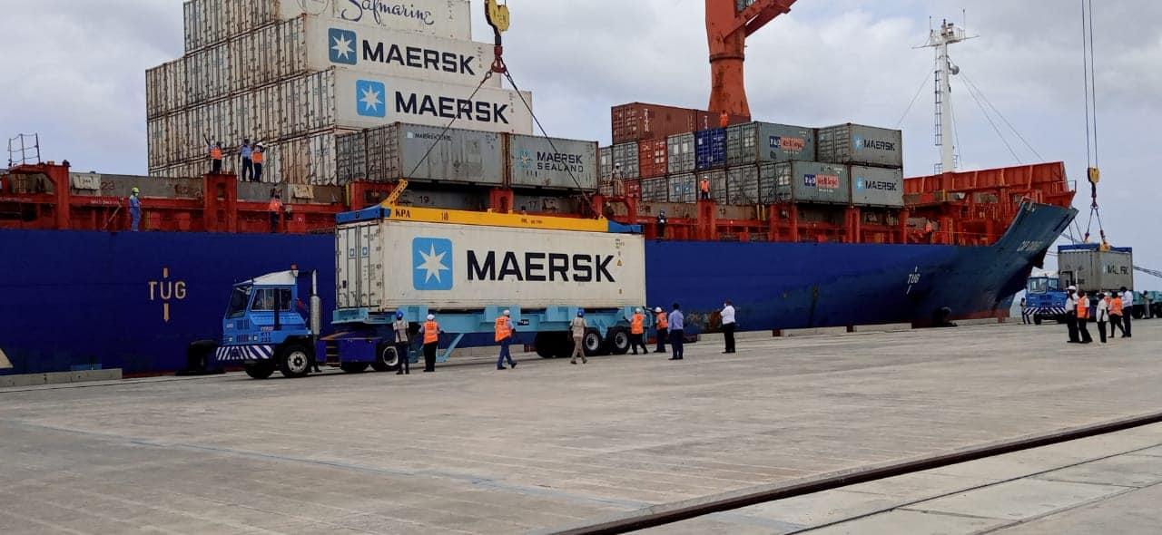 President Uhuru Kenyatta in Lamu to  launch the Ksh310 billion Lamu Port