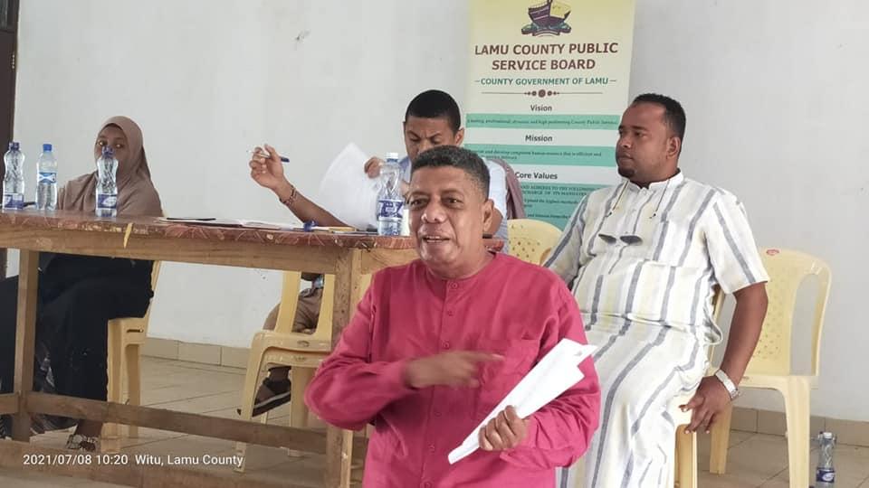 LAMU COUNTY HUMAN RESOURCE AUDIT OF PUBLIC SERVICE IN WITU WARD