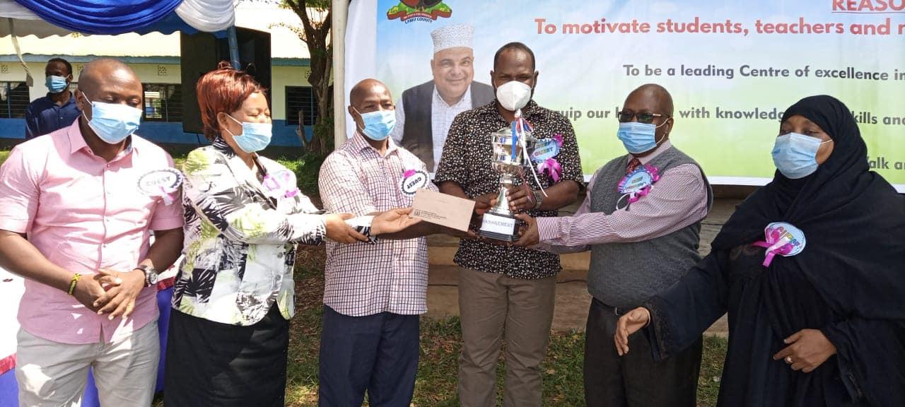 Mpeketoni Boys High School prize giving day