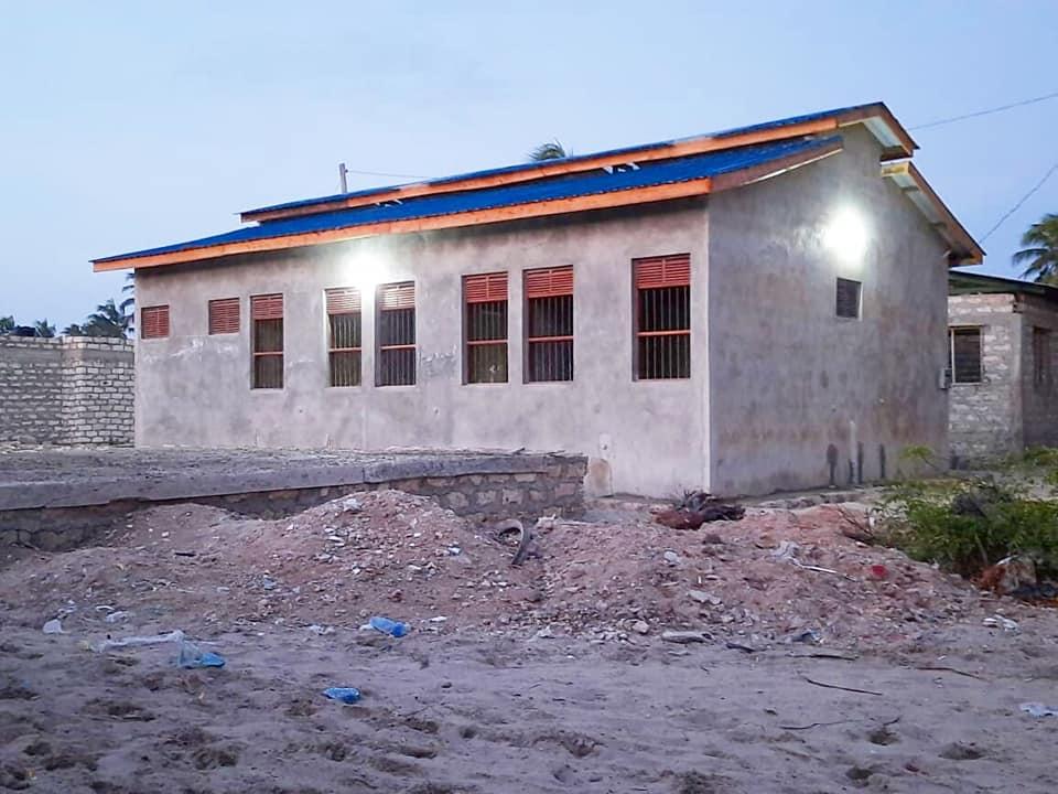 ONGOING Construction of the Kashmir Dispensary in Mokomani ward