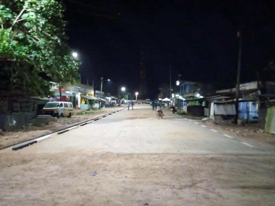 PHASE 3 STREET LIGHTING IN LAMU COUNTY BEGINS