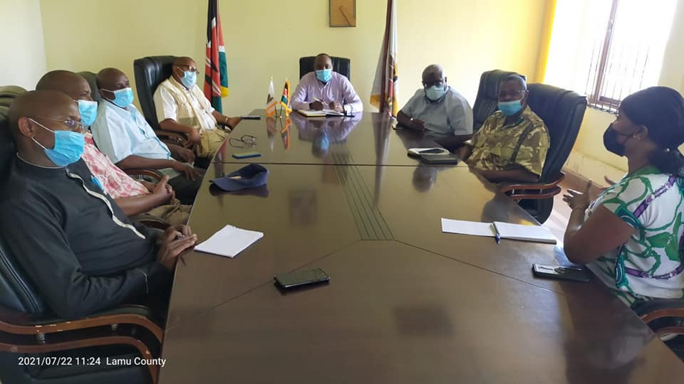 LAMU COUNTY TO HOST THE NEXT WILDLIFE DESTINATION IN KENYA
