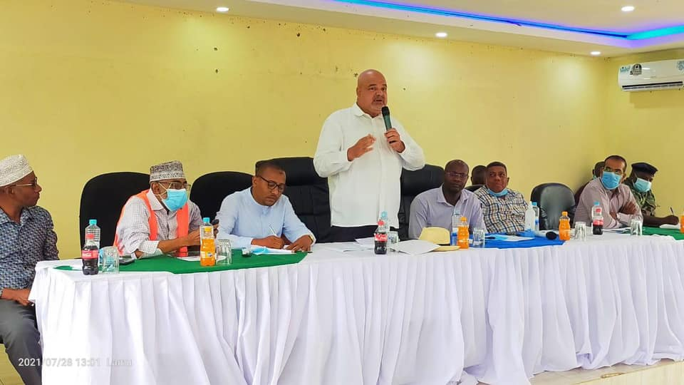 LAMU COUNTY GOVERNOR FAHIM TWAHA LEADS AN AN MOU SIGNING TO INTRODUCE GO BLUE COURSES IN LAMU TVET