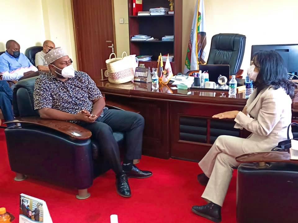 THAILAND AMBASSADOR TO KENYA PAYS COURTESY CALL ON OFFICE OF THE GOVERNOR, LAMU