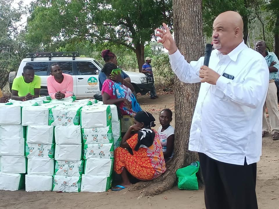 BOKO VILLAGE RELIEF FOOD DISTRIBUTION FOR DROUGHT RESPONSE