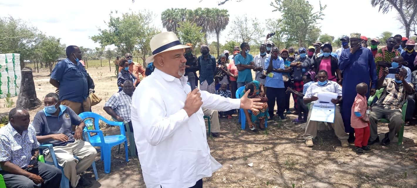 LAMU COUNTY RELIEF FOOD DRIVE FOR OVER 1, 800 RESIDENTS OF MAVUNO, MANYATTA AND PANGANI AREA IN MKUNUMBI WARD.