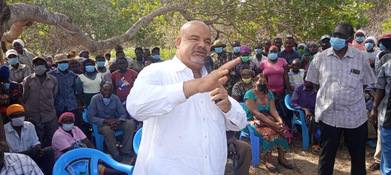 RESIDENTS OF MIKINDUNI AREA, MKUNUMBI WARD RECEIVE RELIEF FOOD