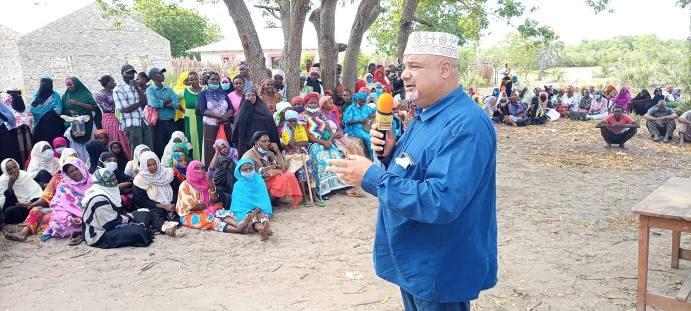 NDAMBWE RESIDENTS IN MKUNUMBI WARD RECEIVE RELIEF FOOD
