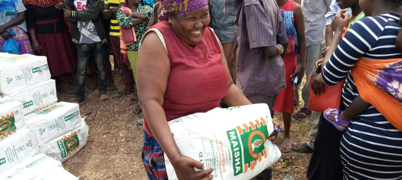 MAPENYA CENTRAL … COUNTY RELIEF FOOD DRIVE