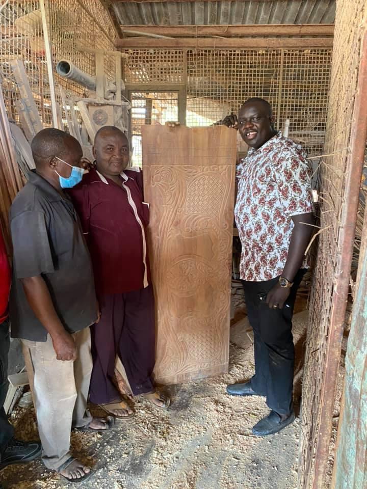 Industrialization, Trade and Industrial Development CAS Hon. David Osiany in Mpeketoni, Lamu.